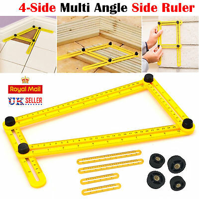 Angleizer Template Tool Measuring Instrument Four-Side Multi Angle Side Ruler AR