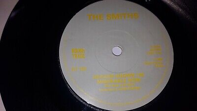 """THE SMITHS - Heaven Knows I'M Miserable Now - UK PRESS 7"""" UNUSUAL SOLID CENTRE"""