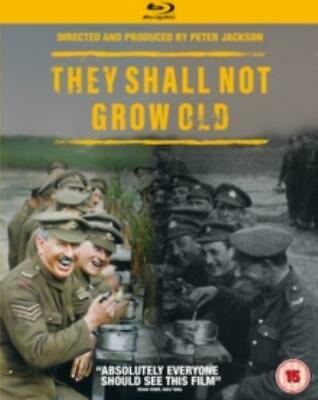 They Shall Not Grow Old =Region B BluRay,sealed=