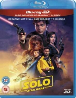 Solo - A Star Wars Story =Region B BluRay,sealed=