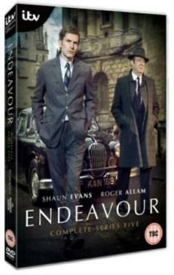 Endeavour: Complete Series Five =Region 2 DVD,sealed=