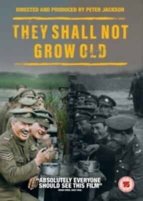 They Shall Not Grow Old =Region 2 DVD,sealed=