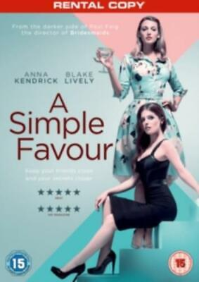 Simple Favour =Region 2 DVD,sealed=