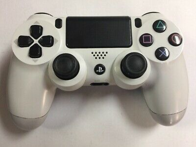 Sony DualShock 4 Wireless Controller White for PlayStation 4 PS4 **(READ)**