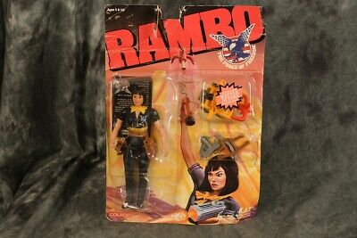 RAMBO KAT MOSC!! The Force of Freedom K.A.T. Figure Mint on Sealed Card New