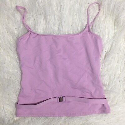 Vintage Early 2000s Calvin Klein Tankini Swimsuit TOP ONLY small