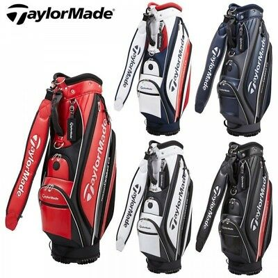 2018 TAYLORMADE GOLF JAPAN TM18 E-5 CART CADDY BAG KL982 New Fast Shipping