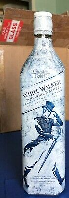 White Walker GAME OF THRONES LIMITED EDITION by Johnnie Walker EMPTY Bottle