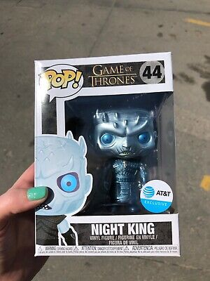 Funko Pop Metallic Night King Game of Thrones AT&T Exclusive In Hand!