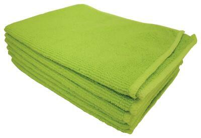 5 Star facilities Microfibre Cleaning Cloths Colour-coded for Dry or Damp Multis