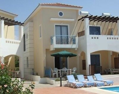 Pafos Self Catering Holiday Home Let Plus Pool Villa rent Cyprus Zeus Gardens