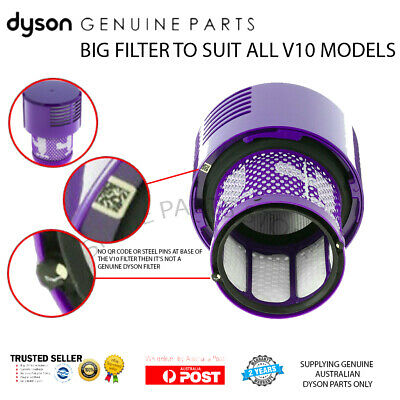 DYSON V10 FILTER - Suit V10 ABSOLUTE & ANIMAL - GENUINE DYSON PART not a COPY