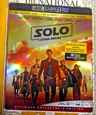 Disney Han Solo A Star Wars Story 4K Ultra HD Blu-ray Ultimate Collector Edition