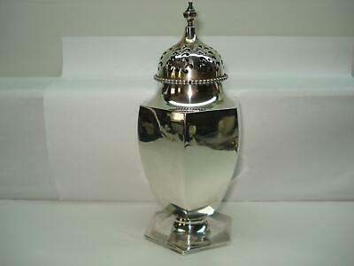 Antique Shreve Crump & Low Sterling Silver Muffinteer Sugar Shaker