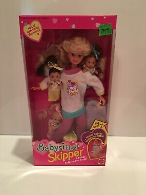 Barbie Babysitter Skipper Doll 1994 NRFB