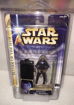 $$ Star Wars ROTJ Jabbas Palace Luke Skywalker Hologram Brand New Case Fresh! $$