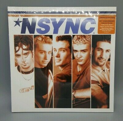 NSYNC First Album CLEAR COLORED VINYL LP 20TH ANNIVERSARY LIMITED EXCLUSIVE NEW