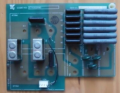 Yaskawa Etx002550 Pcb Circuit Board 120 Day Warranty!!! Ships Today!!!