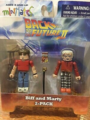 Back to the Future Minimates Previews Exclusive Future Biff Tanner Marty McFly