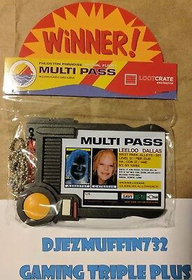 Fifth Element Multi Pass Replica (Loot Crate Exclusive)