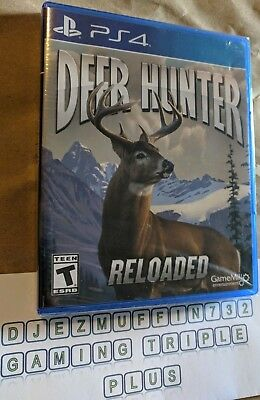 New Deer Hunter Reloaded (Playstation 4 Ps4) Game Mill