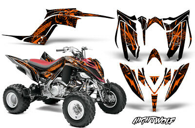 Decal Graphic Kit Quad Sticker Wrap For Yamaha Raptor 700R 2013-2018 NIGHTWOLF O