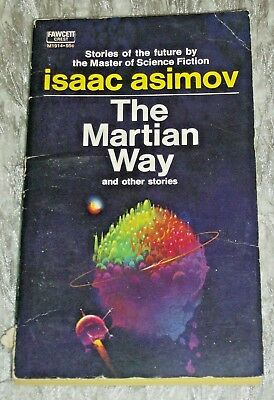 Isaac Asimov, THE MARTIAN WAY, Vintage 1960s/70s Science Fiction Paperback