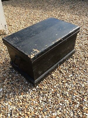 Victorian Large Carpenters Cabinet Makers Tool Chest