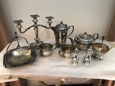 Bulk Silver Plated Tea Sets/serving Sets