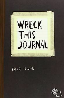 Wreck This Journal by Keri Smith | Book | condition good