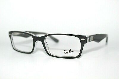 604c2d9457515 New Authentic Ray-Ban Rb 5206 2034 Black Frames Kid s Eyeglasses 52Mm  Rb5206 Rx