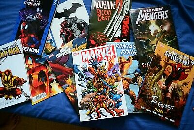 10x Marvel, DC and Indie Comics Wholesale Mixed Job Lot Collection