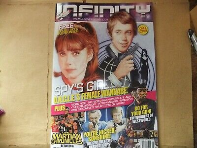 Infinity 18 Magazine Robin Of Sherwood Praed Connery Starlord Comic 2000Ad