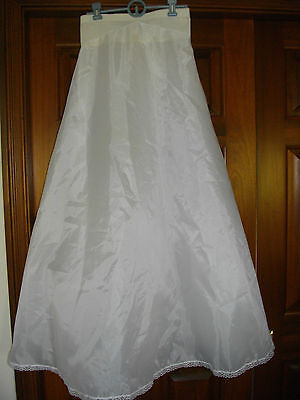 "Sweetheart Bridal Slip- Size 10..waist 27""... worn only 2 hours!.great price!"