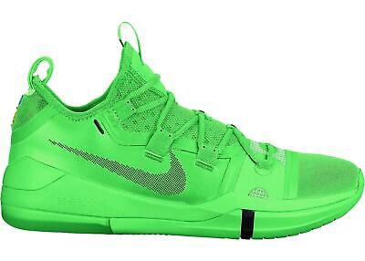 dcb22fa0986d Nike Kobe AD Exodus Men s sz 7.5 Basketball Shoes Green Strike Black AR5515- 301