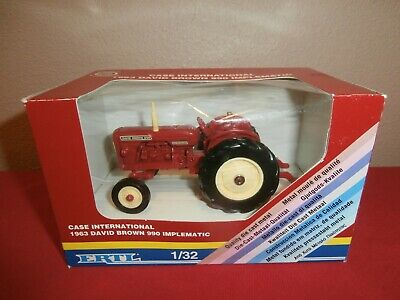 8264ab9e8bf Vintage ERTL Case Int l 1963 David Brown 990 IMPLEMATIC Diecast 1 32 (