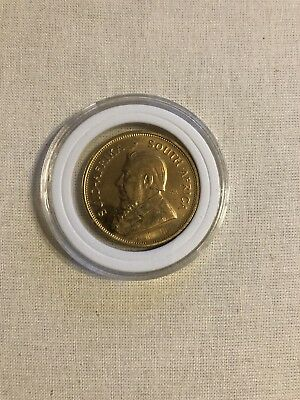 1976 South Africa African 1 Oz Gold Coin Krugerrand Excellent Condition