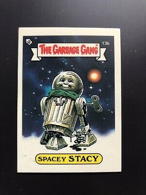 The Garbage Gang Spacey Stacy 13b 1985 Card Sticker Vintage