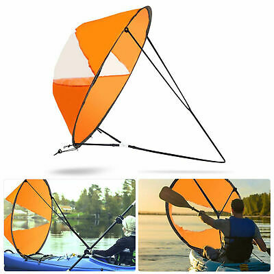 "42.5"" Foldable Downwind Wind Paddle Popup Board For Canoe Kayak Sail Accessories"