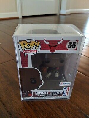 Funko POP NBA Chicago Bulls Michael Jordan Fanatics Exclusive #55 w/ Protector