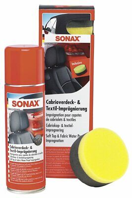 Sonax 03102000 Cabrio-Roof & Textile Impregnation 300 ML
