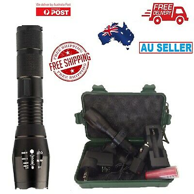 20000lm Tactical  CREE L2 High Power LED Flashlight Torch Brighter Rechargeable