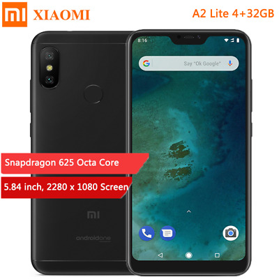 "Xiaomi A2 Lite 4+32GB Global SMARTPHONE 4000mAh 5.84"" Snapdragon 625 8Core 12MP"