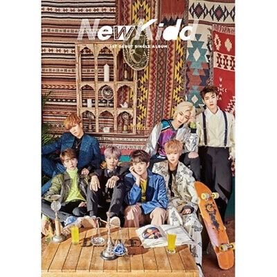 NEWKIDD [NEWKIDD] 1st Single Album CD+POSTER+Photo Book+3p Card+Post Card SEALED