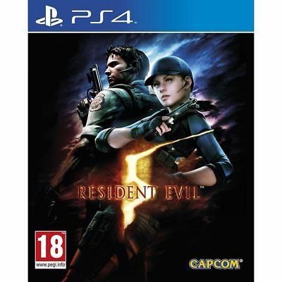 Resident Evil 5 PS4 PlayStation 4 Game PAL Version New Sealed In Stock