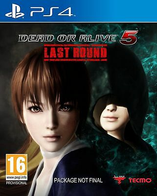 Dead or Alive 5 Last Round PS4 Playstation 4 Game New Sealed PAL Versi In Stock