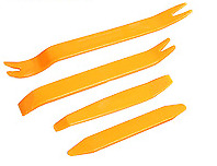 4pcs Auto Car Radio Door Clip Panel Trim Dash Hand Tools Pry Tool