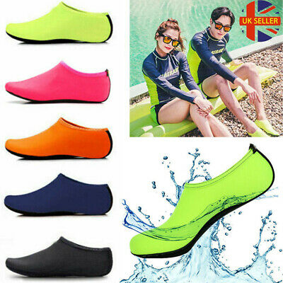 Women Men Water Shoes Aqua Socks Diving Socks Wetsuit Non-slip Swim Beach Sea