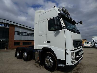 VOLVO FH460 GLOBETROTTER XL 6x2 TRACTOR UNIT 2010