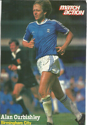 Football Autograph Alan Curbishley Birmingham FC Signed Magazine Picture F760